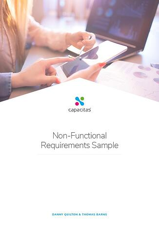 Capactitas Non-Functional Requirements Template Ebook