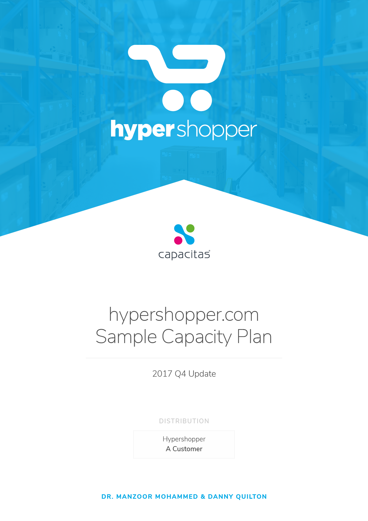 Capacitas Capacity Planning Template Ebook Cover